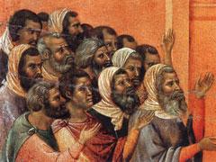アイキャッチ用 キリストを訴えるファリサイ人