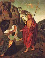 キリスト、マグダラのマリアに現れる(フランシスコ・エンリケス画)