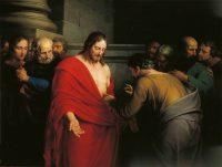 聖トマの不信(ベンジャミン・ウェスト画)