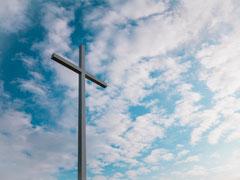 アイキャッチ用 空と十字架