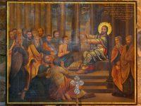 ナザレの会堂でのイエス(Berthold Werner画)