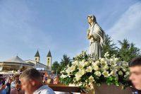 メジュゴリエ40周年 聖母行列