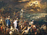 紅海を渡る(ルカ・ジョルダーノ画)
