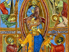 イエス・キリストから戴冠される聖ハインリヒ2世