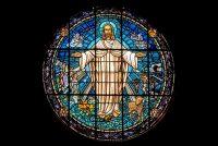 イエス・キリスト(オランダ・ドルドレヒトにある教会のステンドグラス)