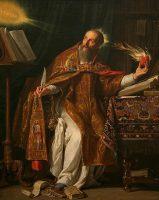 聖アウグスチヌス(フィリップ・ド・シャンパーニュ画)