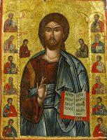 12使徒(北マケドニアの17世紀のイコン)