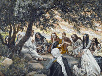 使徒への勧め(ジェームズ・ティソ画)