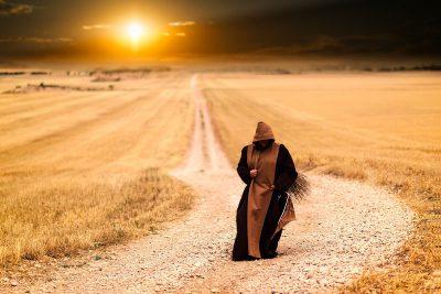 巡礼の修道士