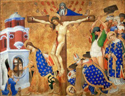 聖ドニの祭壇画(ジャン・マルエル/アンリ・ベルショーズ画)